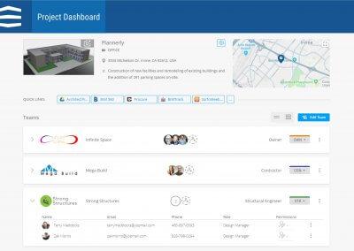 BIM Project Dashboard