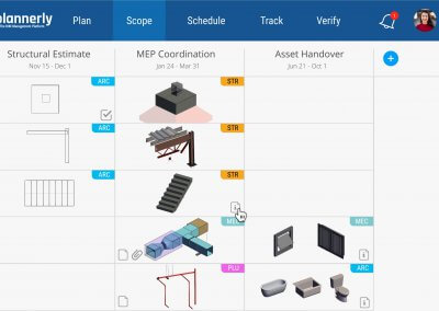 ISO 19650 Level of Information Need BIM Responsibility Matrix + MIDP Software