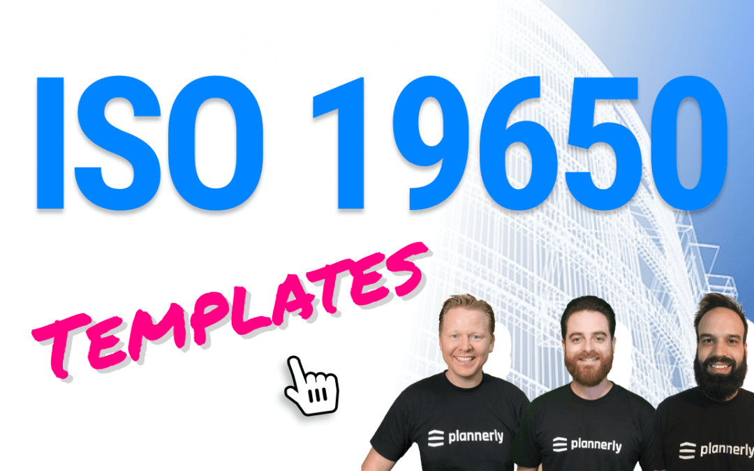 ISO 19650 templates to boost your BIM compliance (templates for OIR, EIR, BEP, AIR and more)