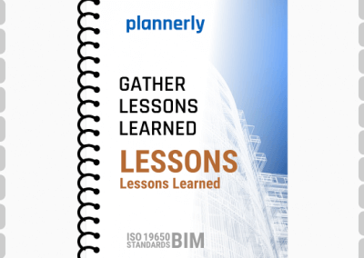 LESSONS LEARNED - for ISO 19650 information management - BIM projects