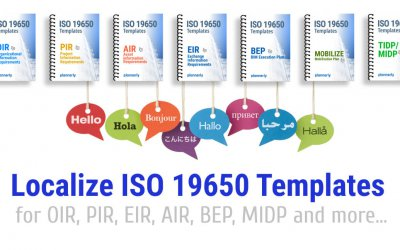 ISO 19650 Templates Localized